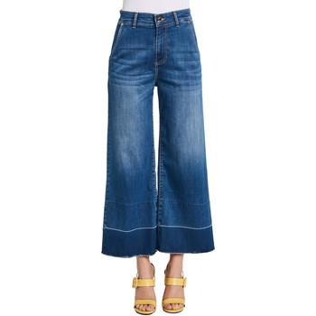 textil Dame Bootcut jeans Gaudi 011BD26030 Blå