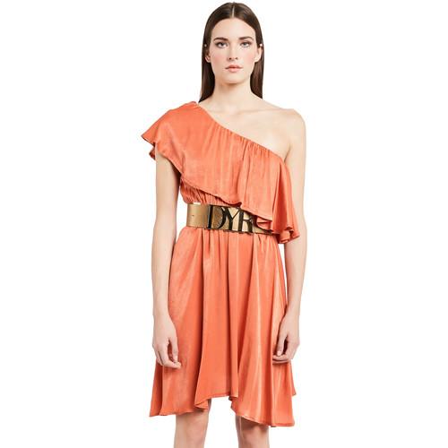 textil Dame Korte kjoler Denny Rose 011ND15020 Orange