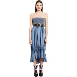 textil Dame Lange kjoler Denny Rose 011ND16002 Blå