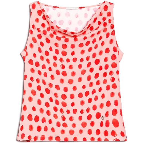 textil Dame Toppe / Bluser NeroGiardini E062810D Lyserød