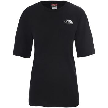 textil Dame T-shirts m. korte ærmer The North Face NF0A4CESJK31 Sort