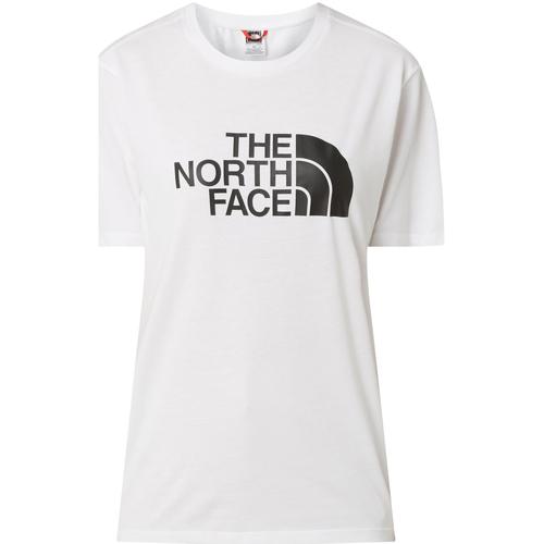 textil Dame T-shirts m. korte ærmer The North Face NF0A4M5PLA91 hvid