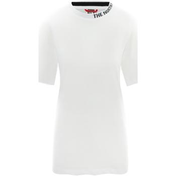 textil Dame T-shirts m. korte ærmer The North Face NF0A491QFN41 hvid