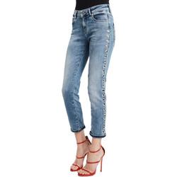 textil Dame Smalle jeans Denny Rose 011ND26009 Blå