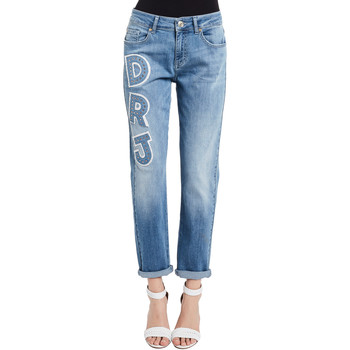 textil Dame Jeans Denny Rose 011ND26013 Blå