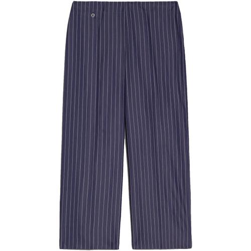 textil Dame Halvlange bukser NeroGiardini E060151D Blå