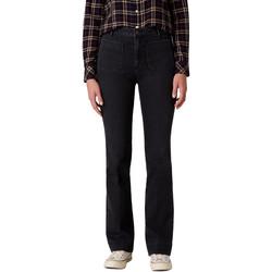 textil Dame Bootcut jeans Wrangler W233JK45A Sort