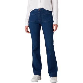 textil Dame Jeans Wrangler W233JN69F Blå