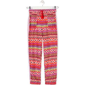 textil Børn Løstsiddende bukser / Haremsbukser Losan 014-9014AL Rød