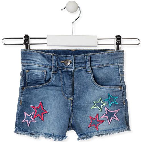 textil Børn Shorts Losan 016-6016AL Blå