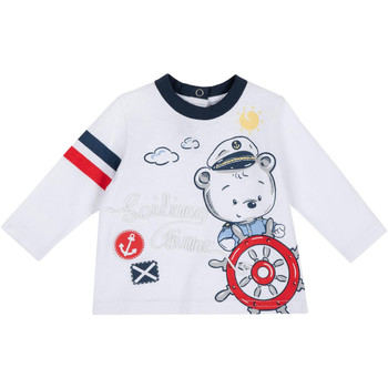 textil Børn Langærmede T-shirts Chicco 09006877000000 hvid