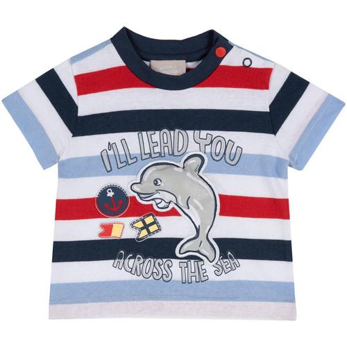 textil Børn T-shirts m. korte ærmer Chicco 09006876000000 Blå