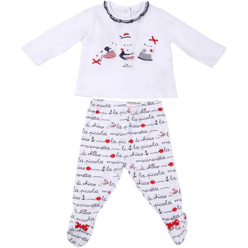 textil Børn Sæt Chicco 09076457000000 hvid