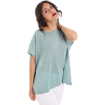 textil Dame Toppe / Bluser Gaudi 011FD53011 Blå