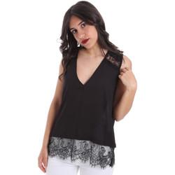 textil Dame Toppe / Bluser Gaudi 011FD45055 Sort