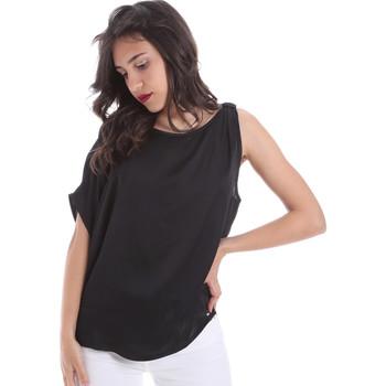 textil Dame Toppe / Bluser Gaudi 011FD45057 Sort