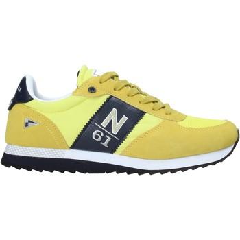 Sko Herre Lave sneakers Navigare NAM013550 Gul