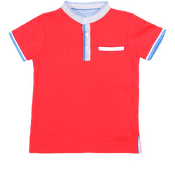 textil Børn Polo-t-shirts m. korte ærmer Losan 015-1791AL Rød