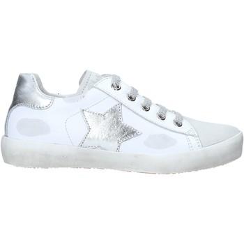 Sko Børn Høje sneakers Naturino 2014752 02 hvid
