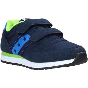 Sko Dreng Lave sneakers Fred Mello S20-SFK315 Blå