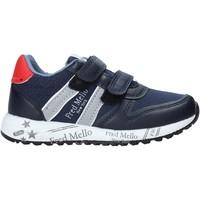 Sko Dreng Lave sneakers Fred Mello S20-SFK318 Blå