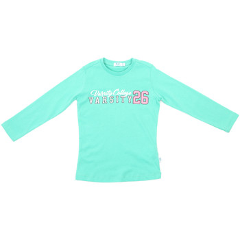 textil Børn Langærmede T-shirts Melby 70C5615 Grøn