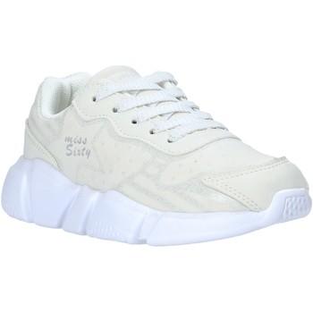 Sko Børn Lave sneakers Miss Sixty S20-SMS737 hvid