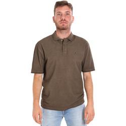 textil Herre Polo-t-shirts m. korte ærmer Les Copains 9U9016 Brun