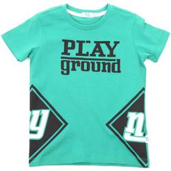 textil Børn T-shirts m. korte ærmer Melby 70E5544 Grøn