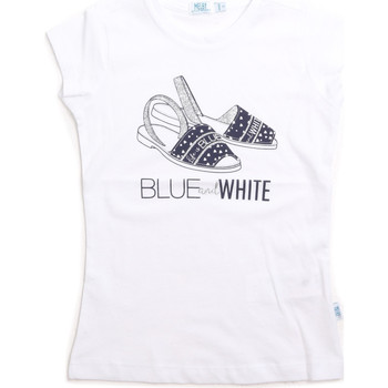textil Børn Toppe / T-shirts uden ærmer Melby 70E5645 hvid