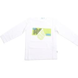 textil Børn Langærmede T-shirts Melby 70C5524 hvid