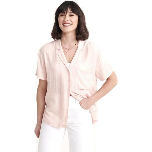 textil Dame Skjorter / Skjortebluser Superdry W4010017A Lyserød