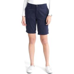 textil Dame Shorts Superdry W7110007A Blå