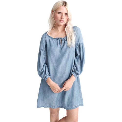 textil Dame Korte kjoler Superdry W8010099A Blå