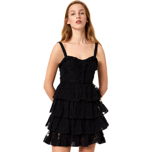 textil Dame Korte kjoler Liu Jo FA0312 T4190 Sort