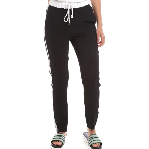 textil Dame Træningsbukser Liu Jo TA0205 T8552 Sort