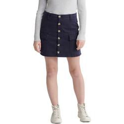 textil Dame Nederdele Superdry W7210021A Blå