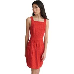 textil Dame Korte kjoler Superdry W8010090A Rød