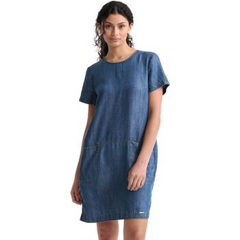 textil Dame Korte kjoler Superdry W8010100A Blå