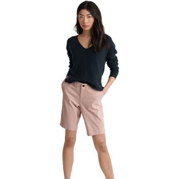 textil Dame Shorts Superdry W7110007A Lyserød