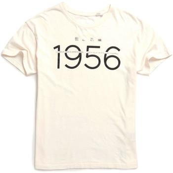 textil Dame T-shirts m. korte ærmer Superdry W1000001A hvid