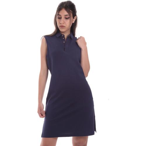 textil Dame Korte kjoler Emporio Armani EA7 3HTA58 TJI3Z Blå