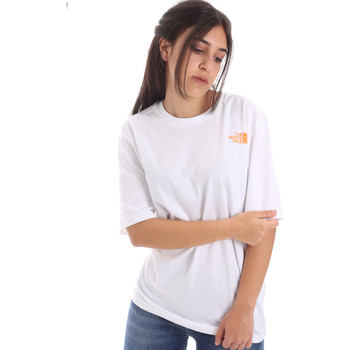 textil Dame T-shirts m. korte ærmer The North Face NF0A4M5QP9V1 hvid