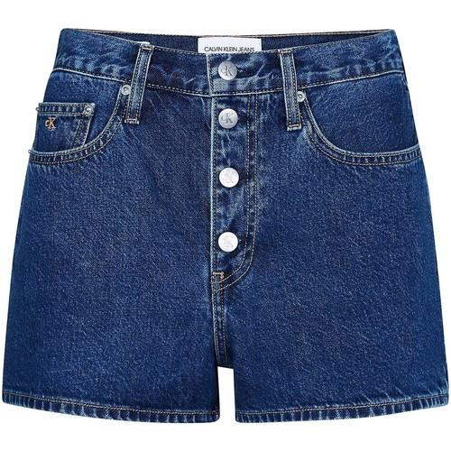 textil Dame Shorts Calvin Klein Jeans J20J213866 Blå