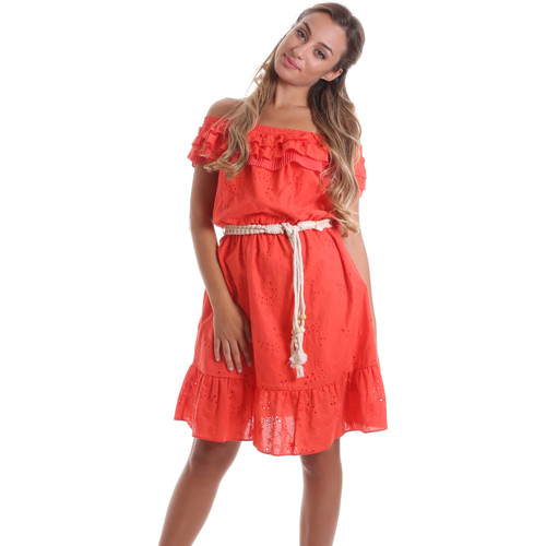 textil Dame Korte kjoler Liu Jo FA0173 T4191 Orange
