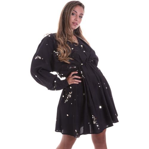 textil Dame Korte kjoler Liu Jo FA0082 T5976 Sort