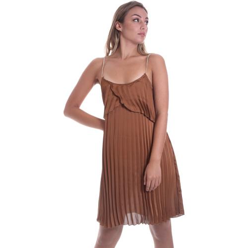 textil Dame Korte kjoler Liu Jo FA0032 T5957 Brun