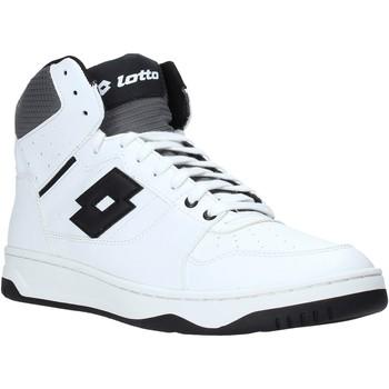 Sko Herre Høje sneakers Lotto 212071 hvid