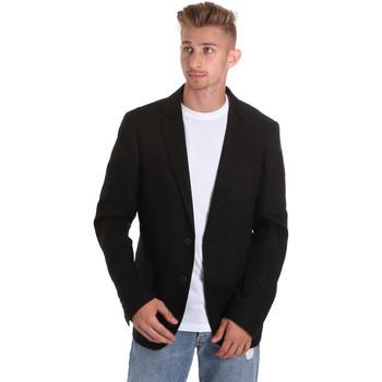 textil Herre Jakker / Blazere Antony Morato MMJA00417 FA400060 Sort