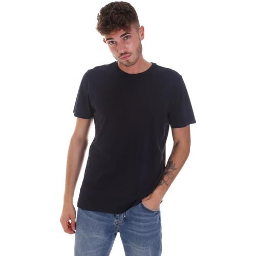 textil Herre T-shirts m. korte ærmer Navigare NV31128 Blå